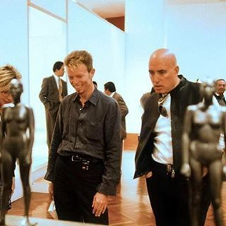 David Bowie & Mike Garson