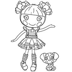 Lalaloopsy Coloring Pages Free Printables Momjunction Mermaid Coloring Pages Lalaloopsy Baby Coloring Pages