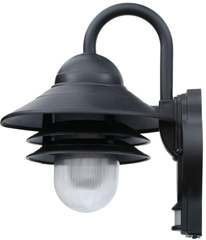 Marina 110 Degree Outdoor Exterior Black Motion Sensing Porch Wall Mount Light Newportcoastal Motion Sensing Light Wall Mounted Light Outdoor Wall Lighting