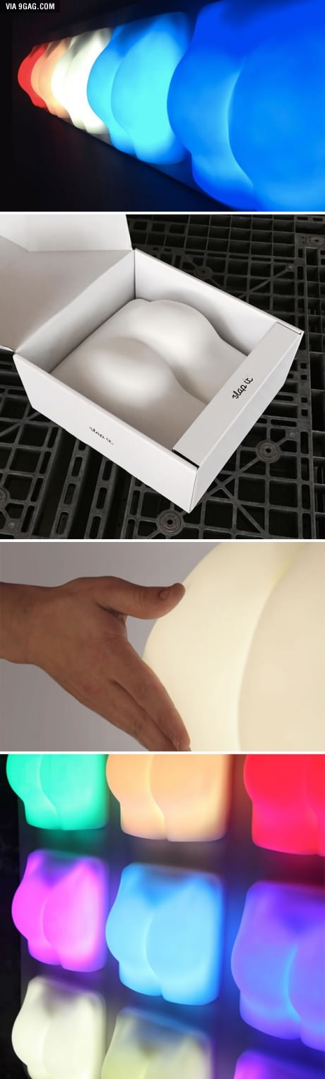 This Butt Lamp Gets Turned On When You Slap It