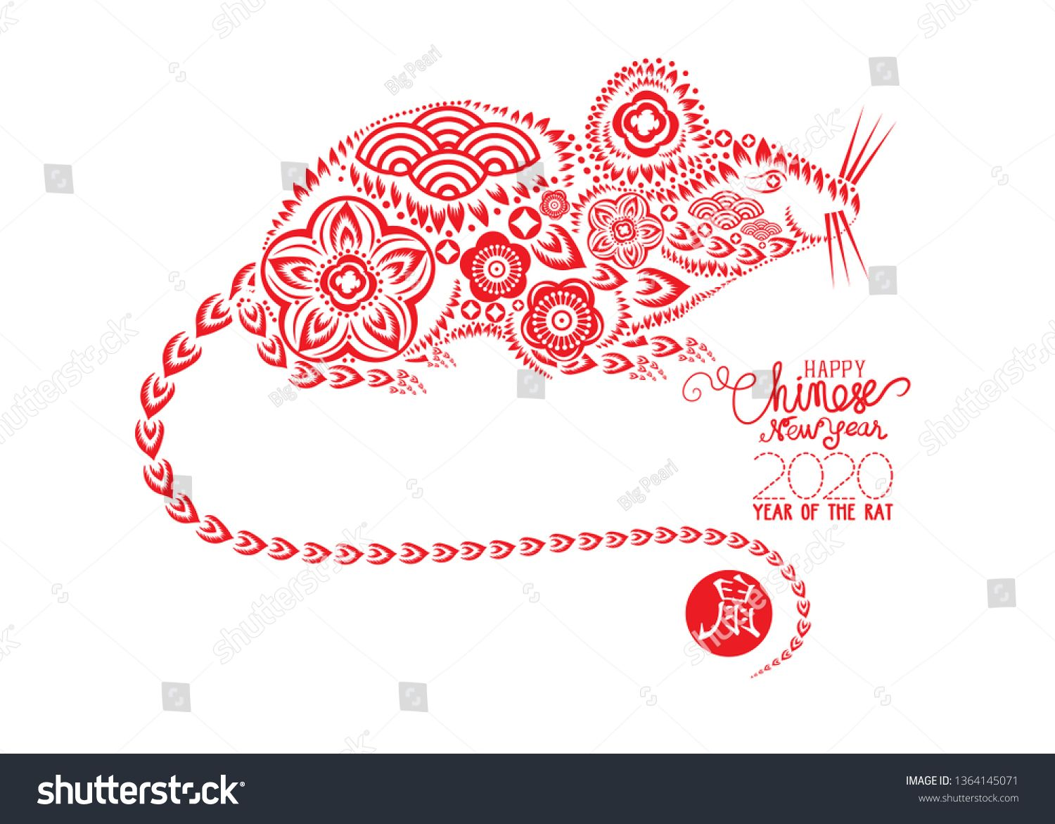 Pin on Chinese New Year 2020. Year of the RAT
