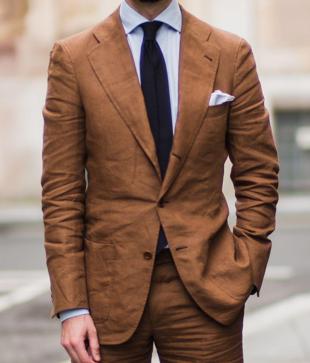 Langa bespoke suit linen close | Vanity Clothing.... | Pinterest ...