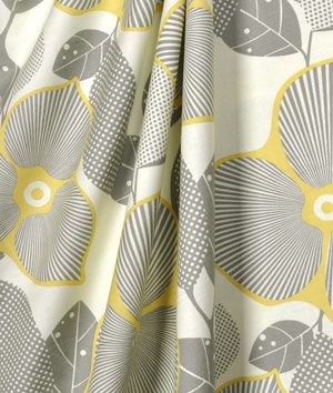 Amy Butler Optic Blossom Linen Fabric : Image 3
