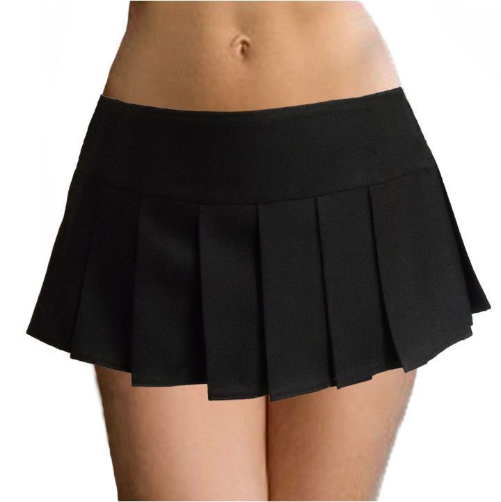 Black Pleated Skirt | Short Skirts | Pinterest | Skirts, Black ...
