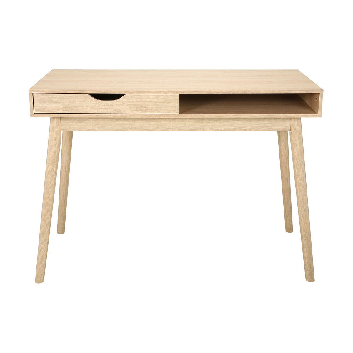 Oak Look Single Drawer Desk Kmart Desk With Drawers Furniture Oak Desk