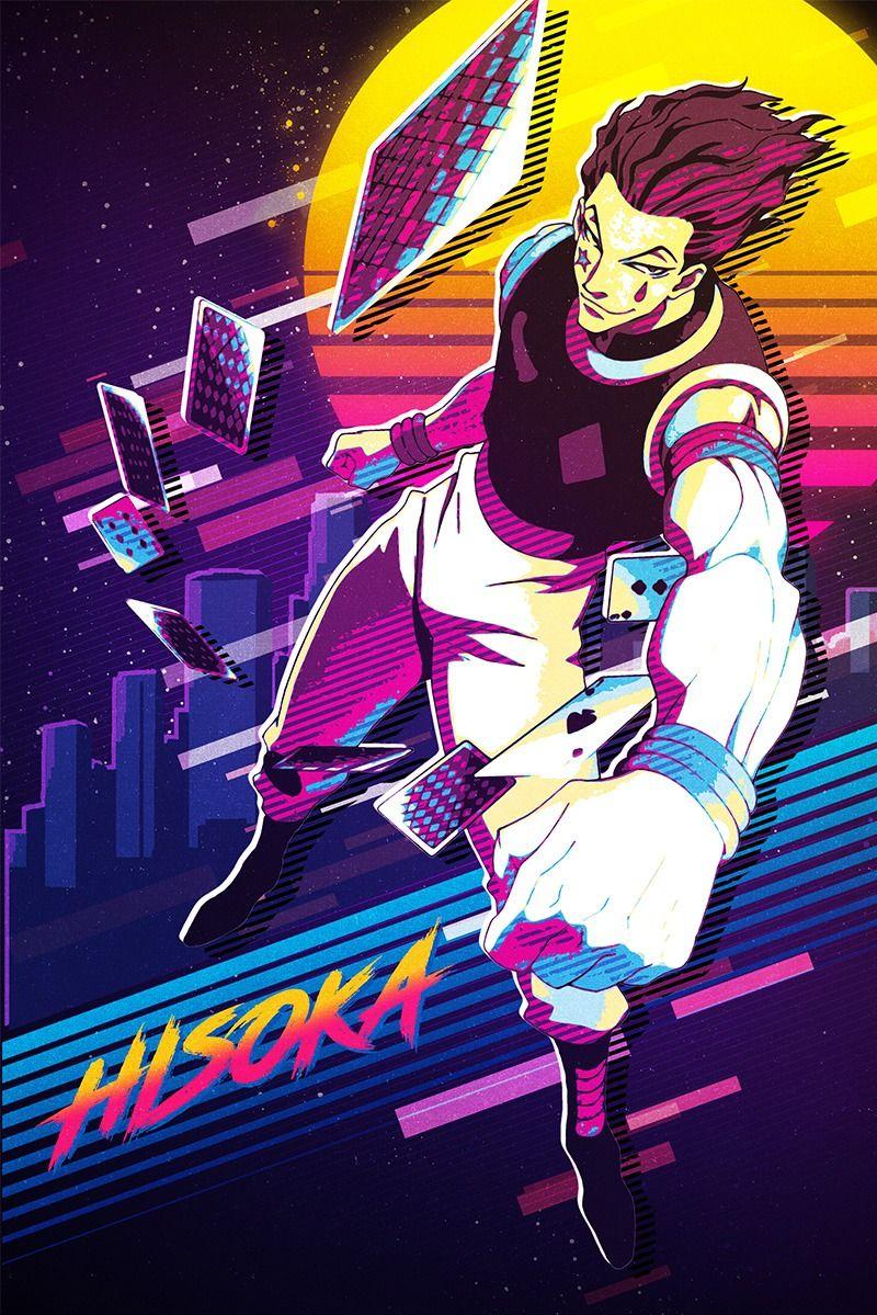 Hisoka Pop Art Poster Print metal posters en 2020