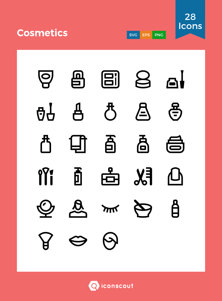 Download Cosmetics Icon Pack Available In Svg Png Eps Ai Icon Fonts Icon Pack Line Icon Icon
