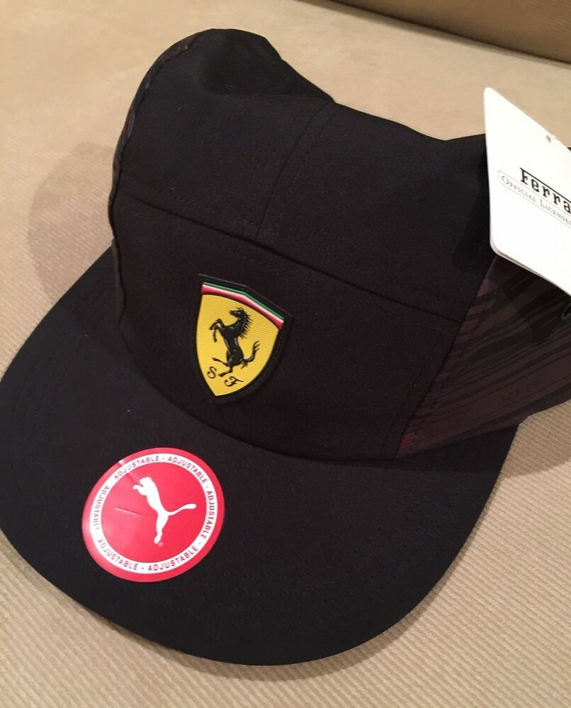 3d7455c6d6e7a PUMA FERRARI BASEBALL CAP HAT - BLACK - NEW W  TAGS  fashion  clothing   shoes  accessories  mensaccessories  hats (ebay link)
