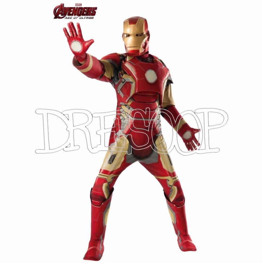 Disfraz Iron Man Aou Musculoso Para Hombre Disfraces De Los Vengadores Trajes De Super Heroes Disfraces Ironman