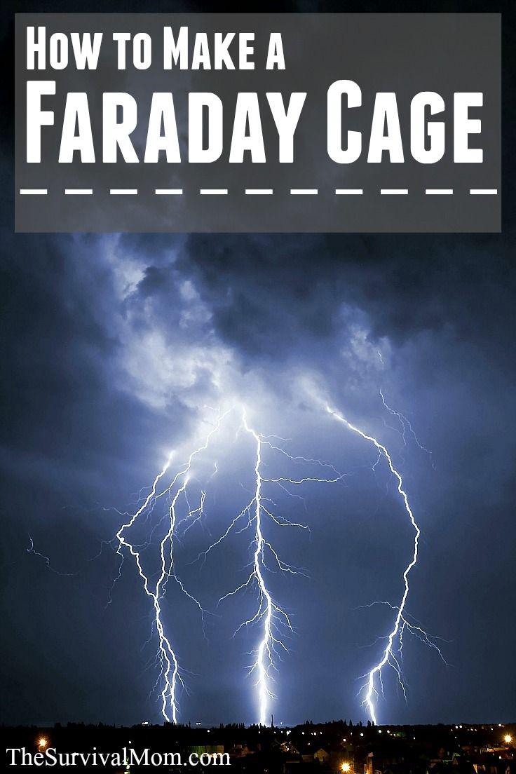 How To Make A Faraday Cage Survival Mom Prepper Survival Survival Skills
