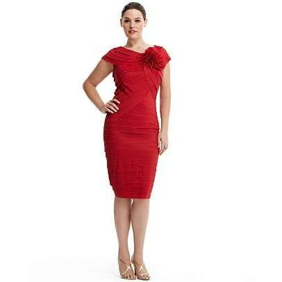plus size red cocktail dress - Google Search | Little Red Dress ...