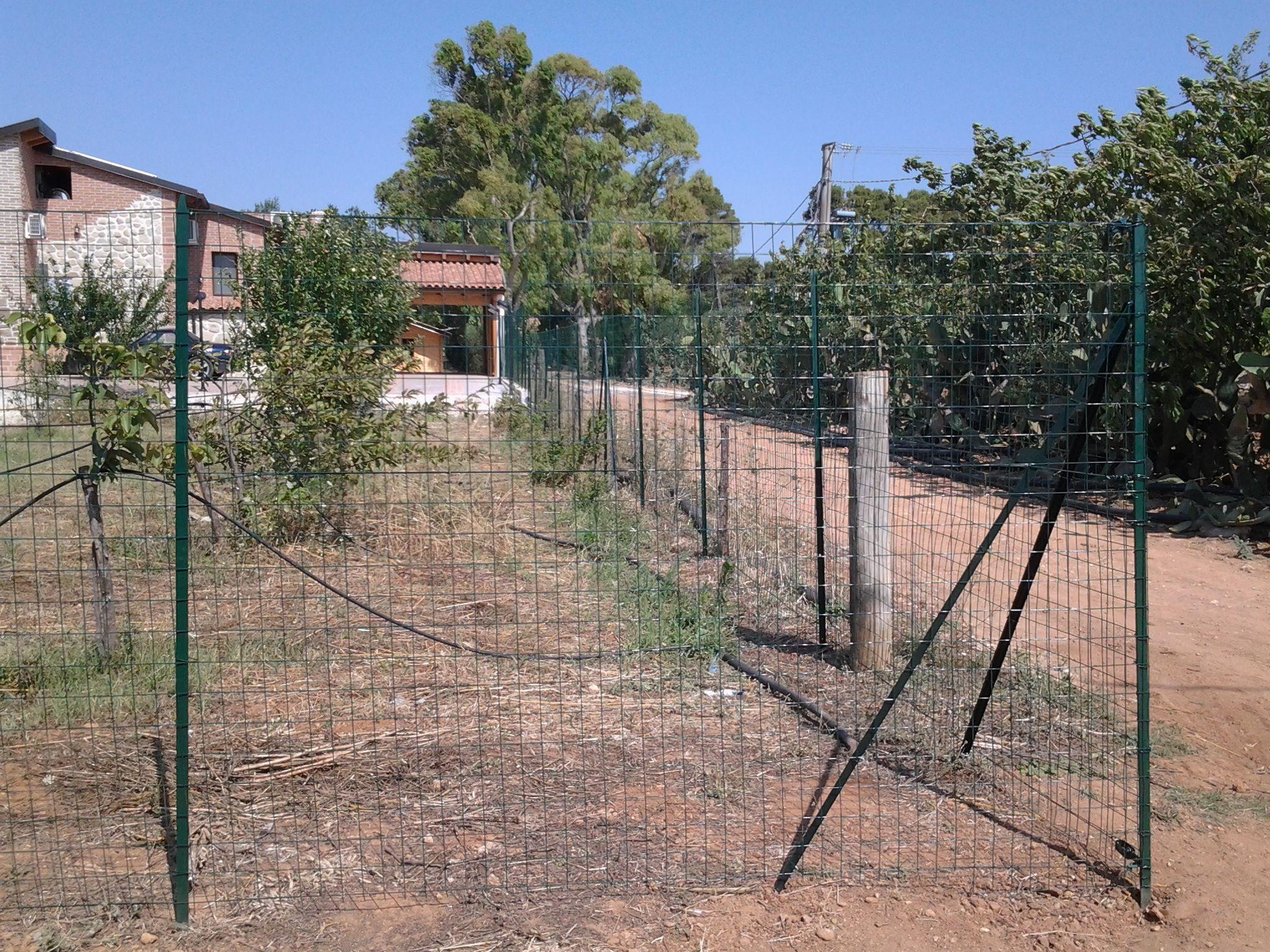 Servizio montaggio scaffalature e posa recinzioni modulari - Recinzione economica giardino ...