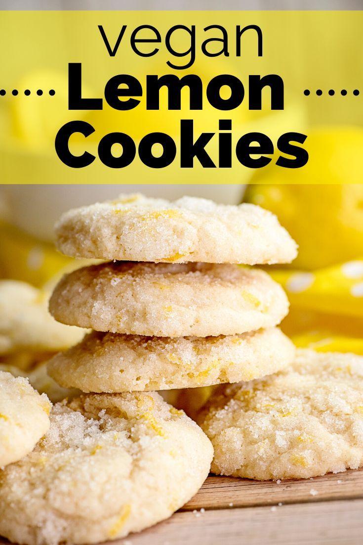The Best Vegan Lemon Cookies - Dairy Free for Baby #foodsanddesserts