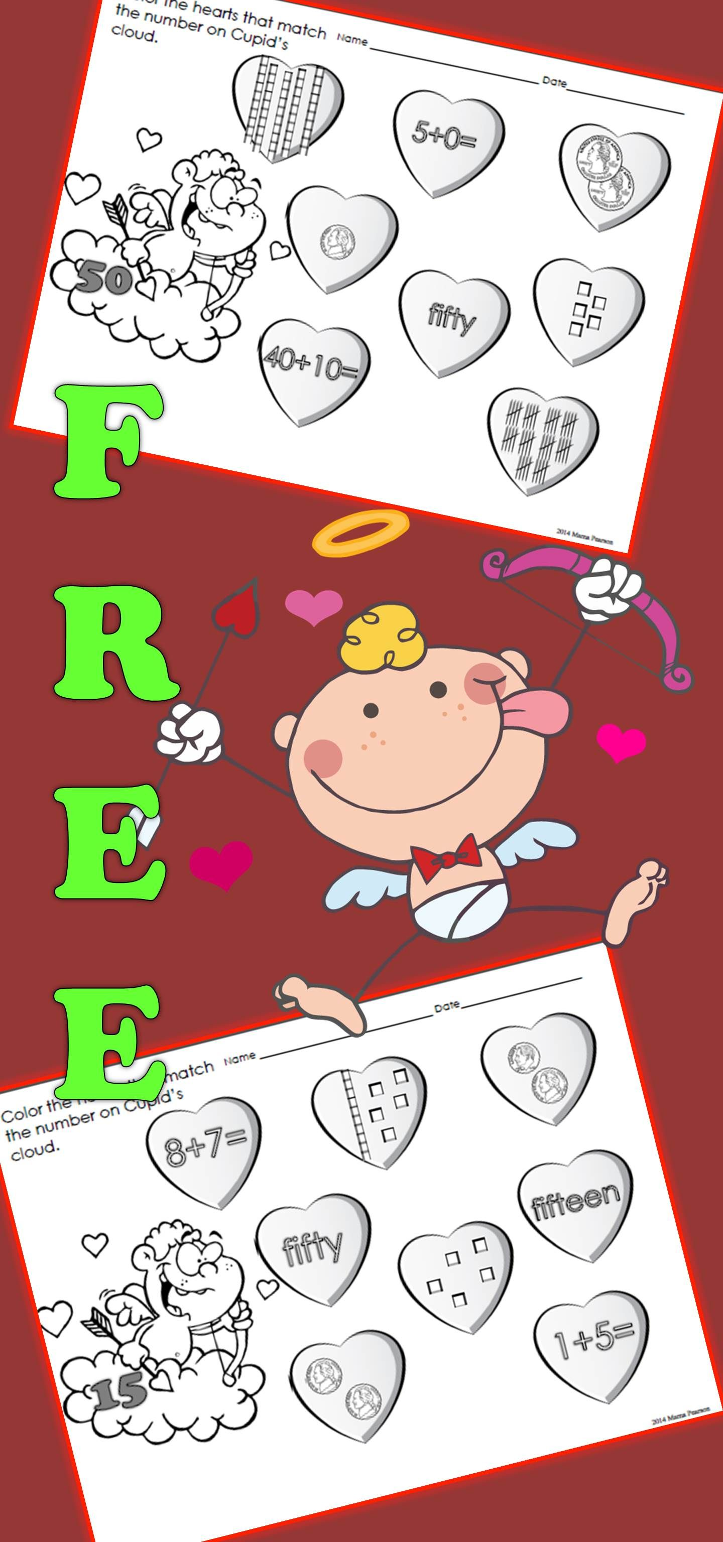 Free Valentine S Day No Prep Printables With Images