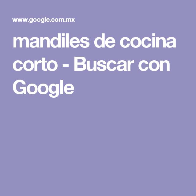 mandiles de cocina corto - Buscar con Google