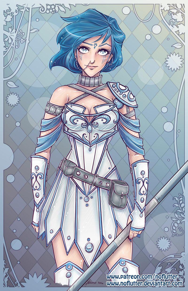 Sailor Mercury / Cookiepoppet - Sailor Mercury Fan Art