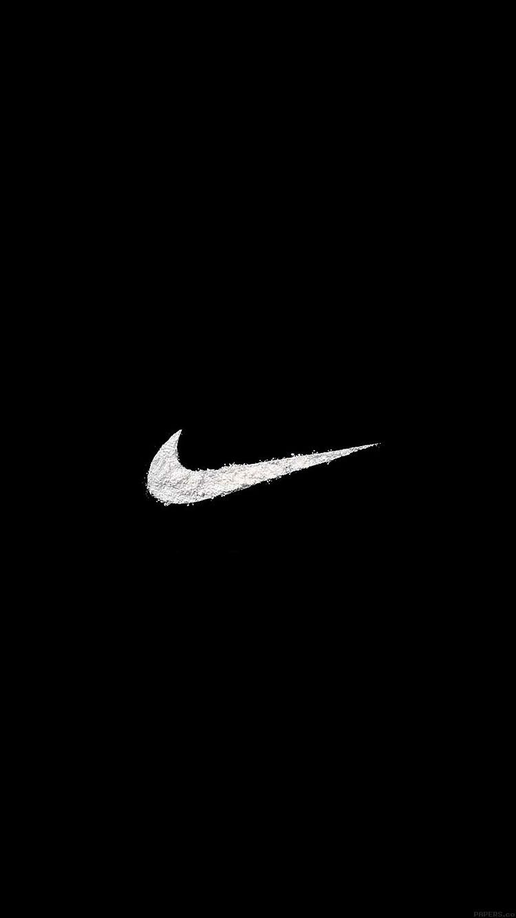 Aa26 Just Do It Logo Art Minimal Bingkai Kertas Dinding Wallpaper Ponsel