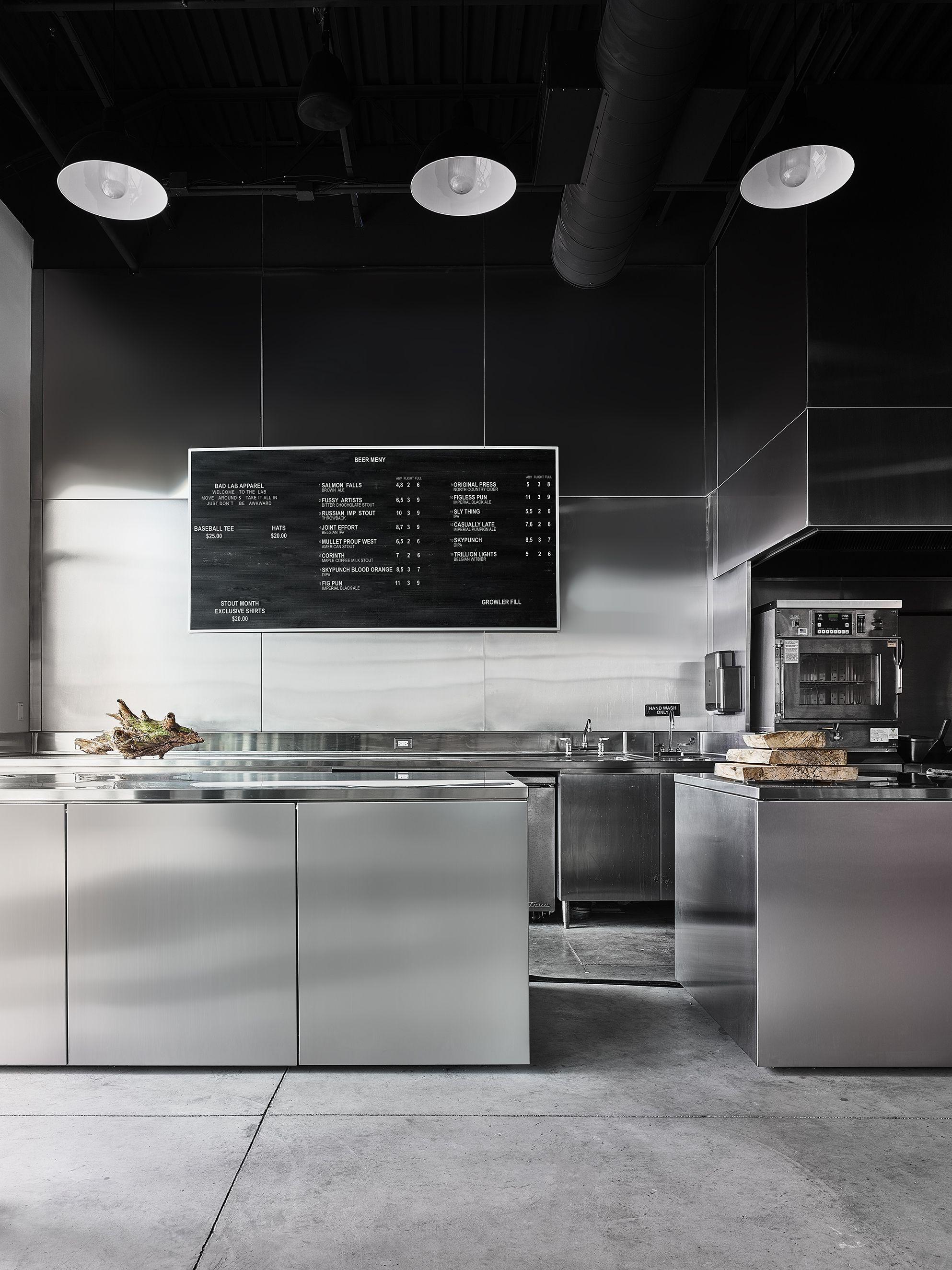 Interior Design Richard Lindvall Restaurant Kitchen Design Open Kitchen Restaurant Modern Kitchen Open