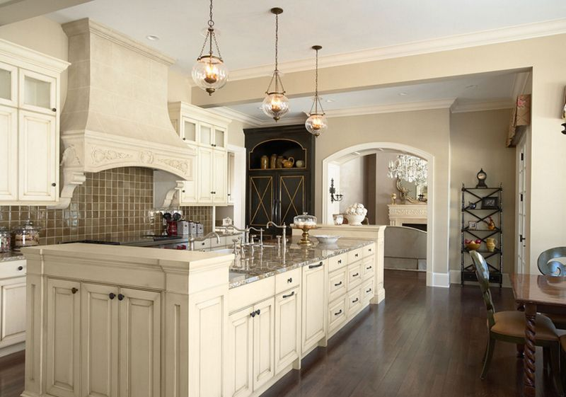 20 Unique Designs Of Candle Chandeliers In The Kitchen Home Design Lover Paint For Kitchen Walls Cream Colored Kitchen Cabinets Cream Kitchen Cabinets