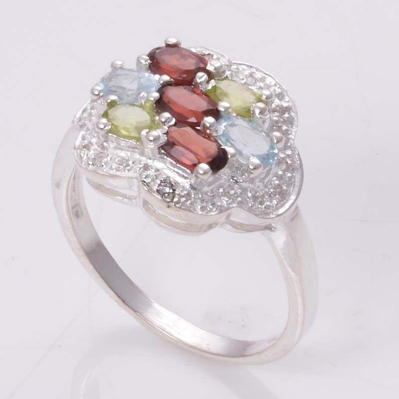 MULTI CUT 925 SOLID STERLING SILVER DESIGNER CASTING RING 4.32g DJR4524 #Handmade #Ring