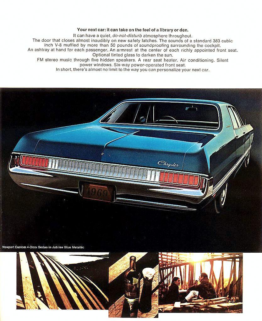 1969 Chrysler Newport Custom 4-door Hardtop