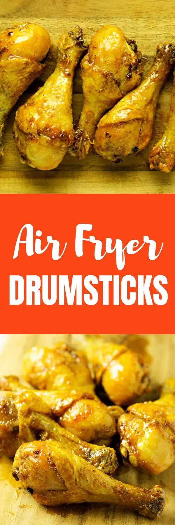 Air Fryer Drumsticks With No Breading In 25 Mins [Step By