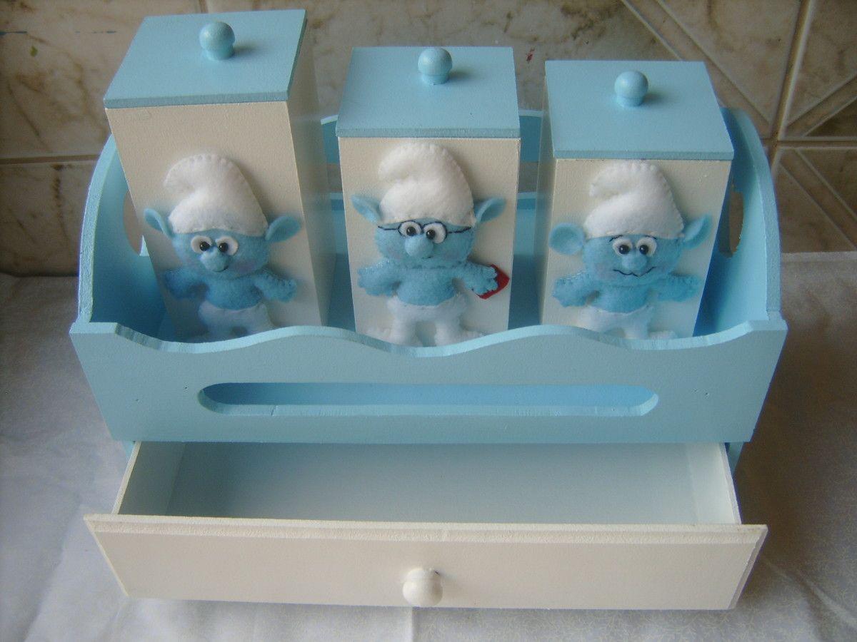 kit-higiene-bercinho-smurfs-nascimento