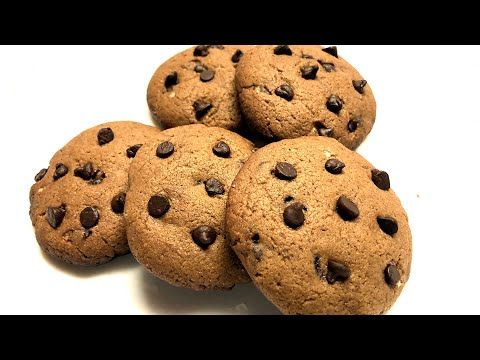 Chocolate Cookies Recipe | Eggless & Without Oven ...