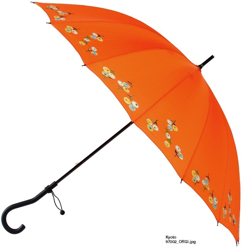 Clear UV coating on fabric. Leighton - Kyoto 44 inches Arc UV Protection Parasol at Umbrellas And Beyond
