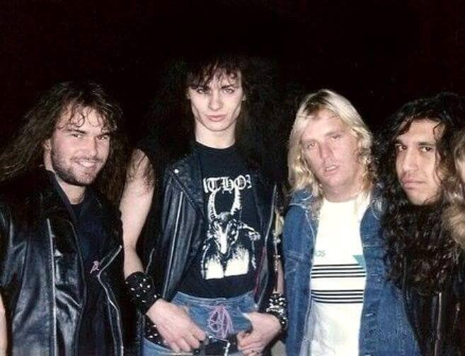 Quorthon Bathory And Slayer Kerry King