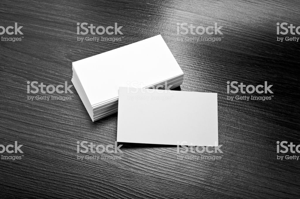 Blank White Visiting Card And Business Card Template For Mock Up And Business Card Template Visiting Cards Templates