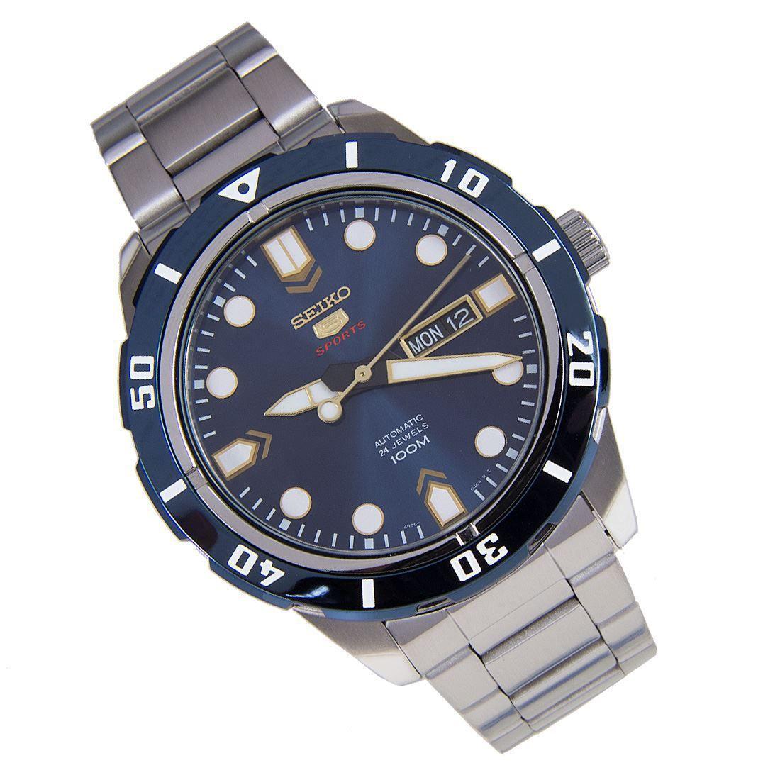SRP677K1 SRP677 Seiko 5 Sports Automatic Watch Seiko 5