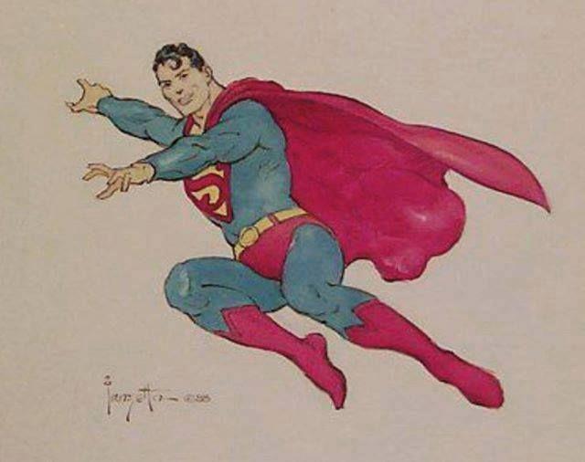 frazetta superman