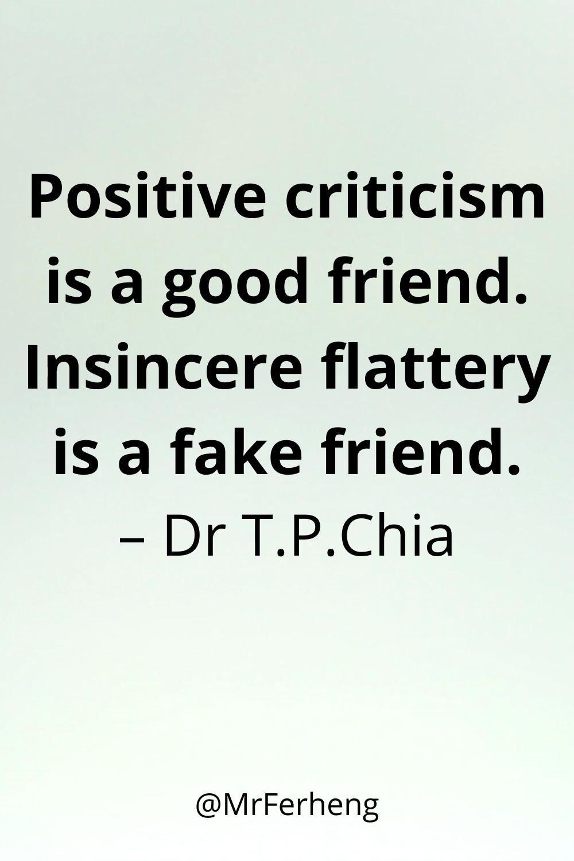 Fake Flattery is Dangerous