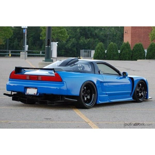 Blue Acura NSX. Must Have This!