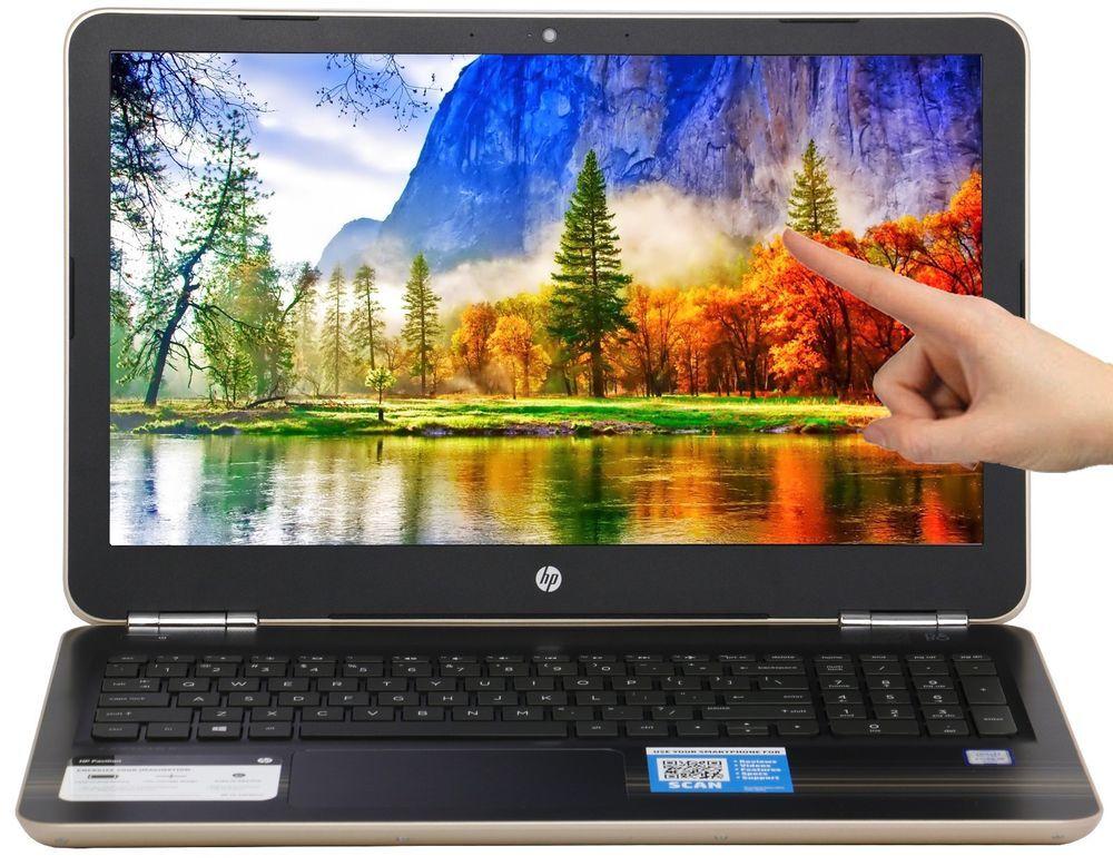 New Hp 15 6 Touchscreen Intel I5 6200u 2 3 Ghz 8gb Ram 1tb Hd Windows 10 Gold Hp Touch Screen Windows 10 8gb