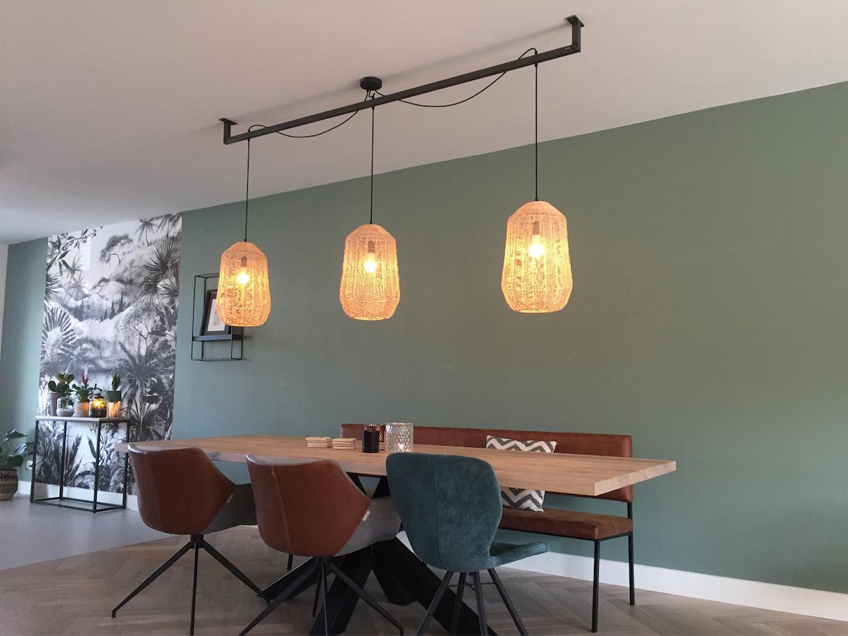 Stoere Keukens Keukenlamp : Industriele stoere lamp de lightbar leuk voor boven de tafel in