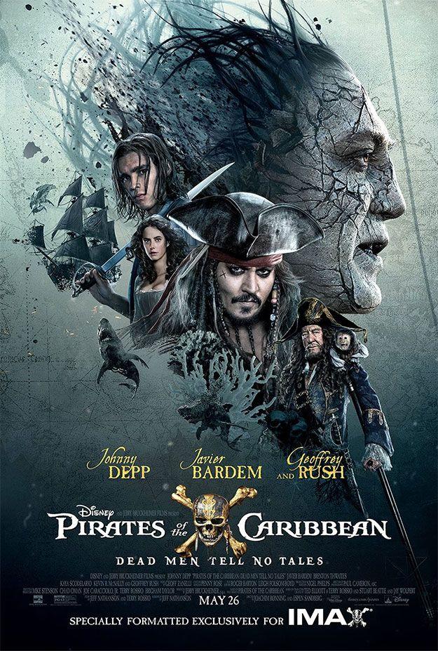 Un Cartel Más De Piratas Del Caribe La Venganza De Salazar Aunque El Mejor Piratas Del Caribe Piratas Del Caribe Salazar Poster De Peliculas