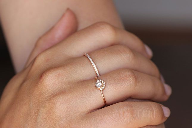 brilliant band wedding round simple and ring bands thin carats pin excellent setting engagement rings diamond
