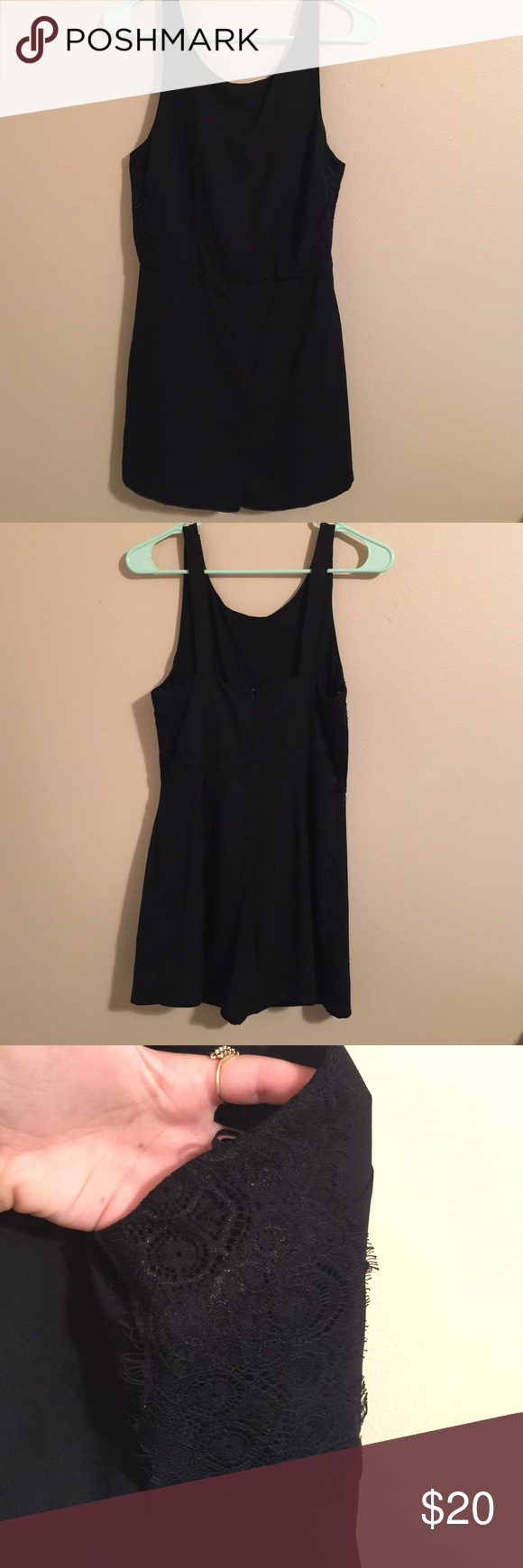 Romper Perfect condition. Never worn. New WITHOUT tags. Forever 21 Dresses