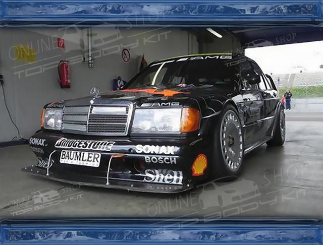 190e Dtm Bodykit With Images Mercedes 190 Mercedes Best