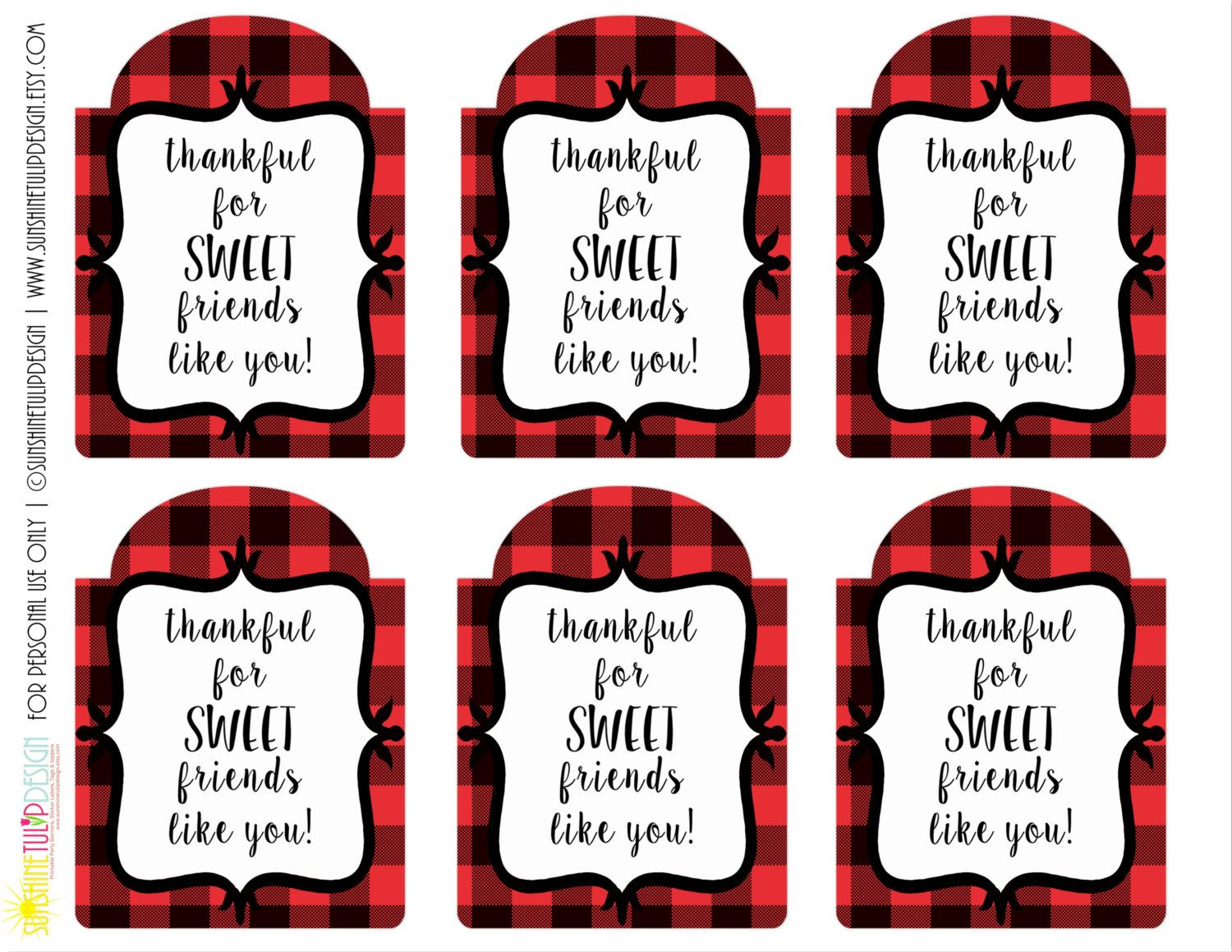 21 X Personalised Labels Stickers Gift Tags Presents