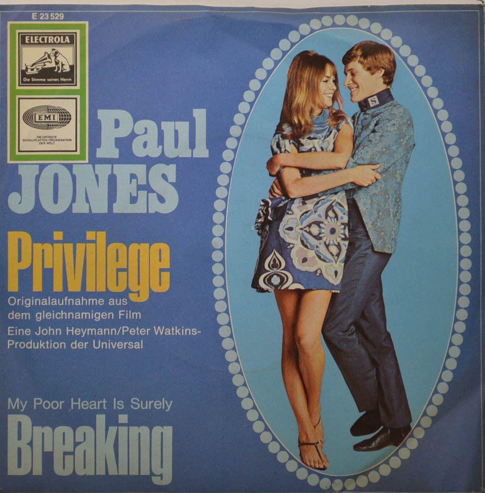 PAUL JONES PRIVILEGE Breaking Electrola