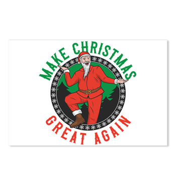 Make Christmas Great Again Postcards (Package of 8 > Make Christmas Great > Christmasishere