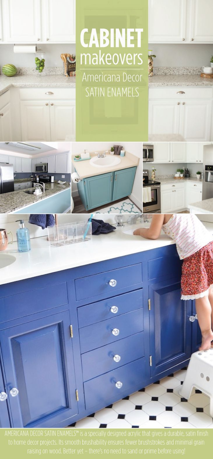 Find out how to easily transform your kitch and bathroom ...