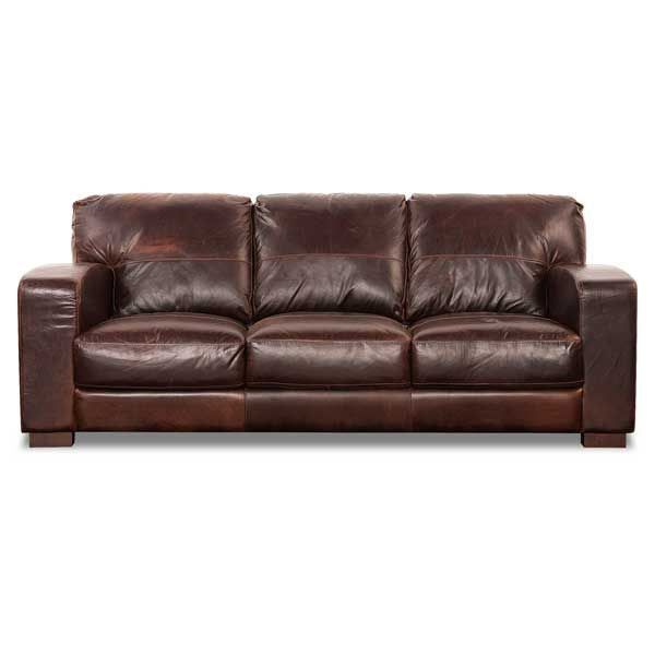 Cuddle Up On The Aspen All Leather Sofa By Soft Line Rich Saddle Color And Traditional Look With Great Comfort A Relaxing For Your Home