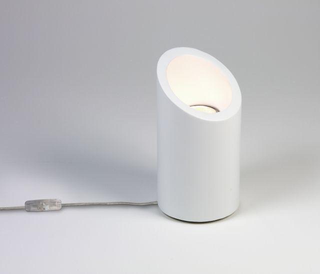 4523 MARASINO Astro - stolová lampa - biela sádra - 200mm