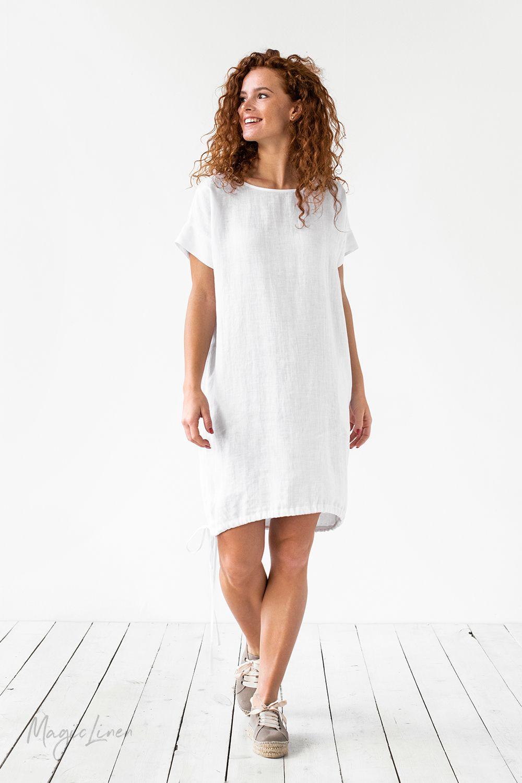 White Linen Dress Linen Dresses Dresses White Linen Dress Summer [ 1500 x 1000 Pixel ]