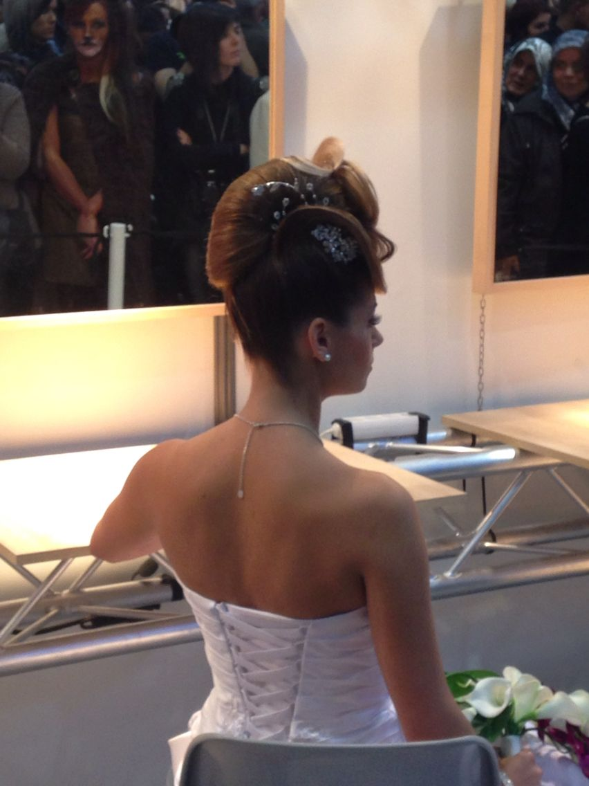 Chignon Concours Wedding Hair Do Pinterest