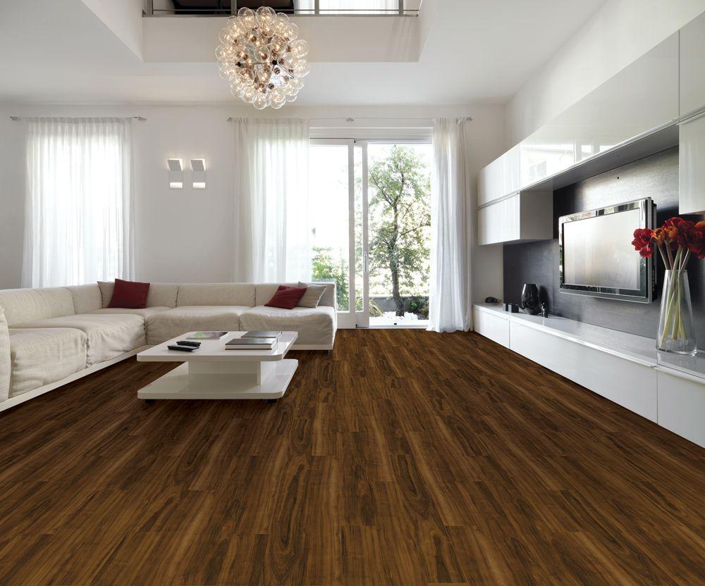 Allure Plus Amaretto Home Open Space Living Luxury Vinyl